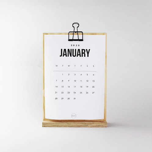 Clip Stand Large + FREE 2020 Calendar