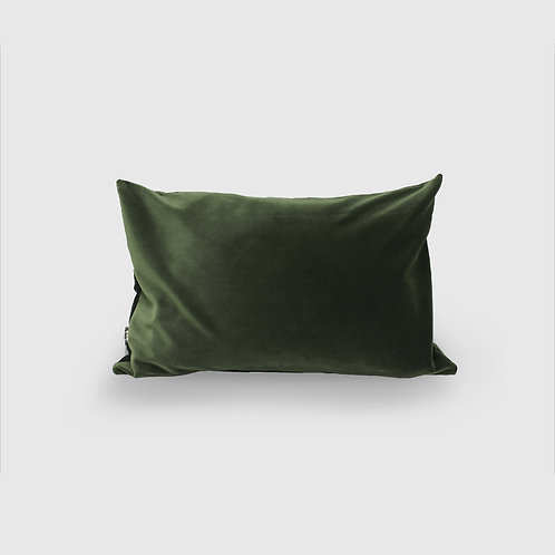 Forest Scatter Velvet Cushion Cover and Feather Inner