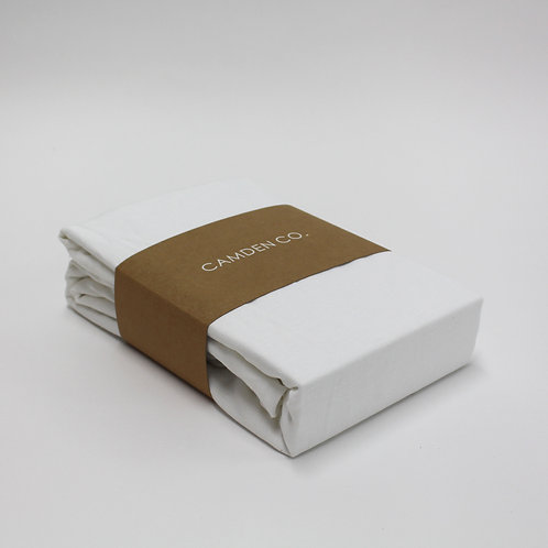 Linen Duvet Cover - French White