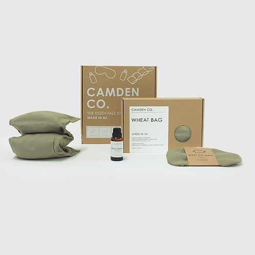 Camden Co Essentials Kit - Gift Package - Moss Green