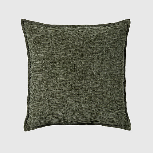 50x50 Cushion - Ripple Ivy