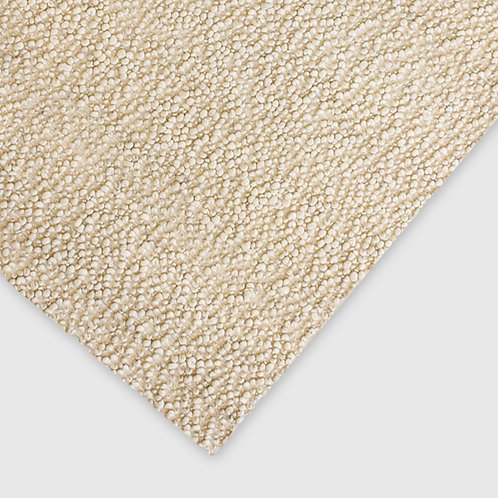 Aria Natural White Floor Rug