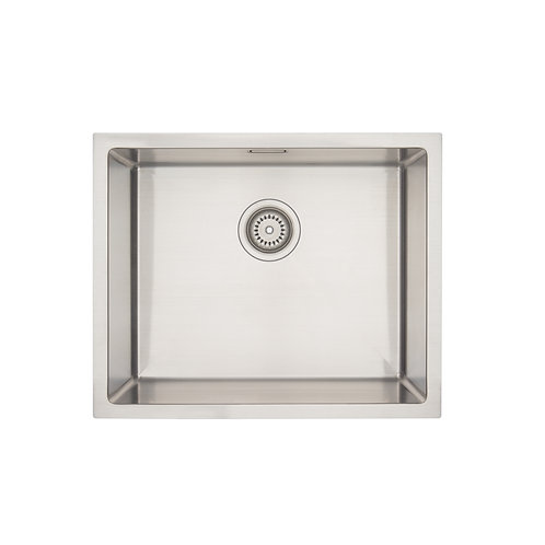 Mercer Aurora Series Coloured Stainless Sink- Stainless 500x400