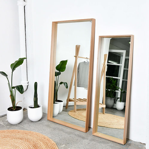 Deep Frame Mirror - Range of Sizes and Colours