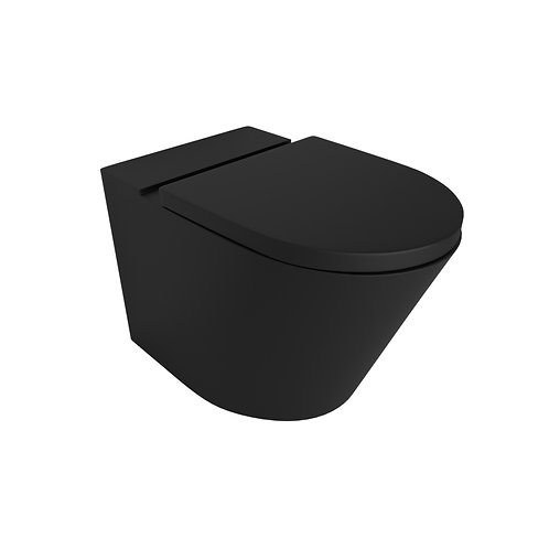 Waterware - Vivo Floor Mounting Pan Thick Seat Rimless