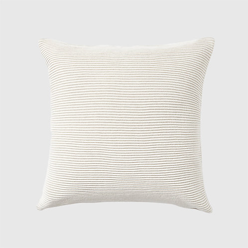 50x50 Cushion - Ribbed Sandstorm