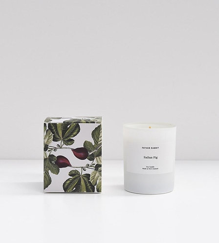 Soy Scented Candle - Italian Fig