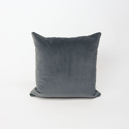 50x50 Cushion - Velvet Slate