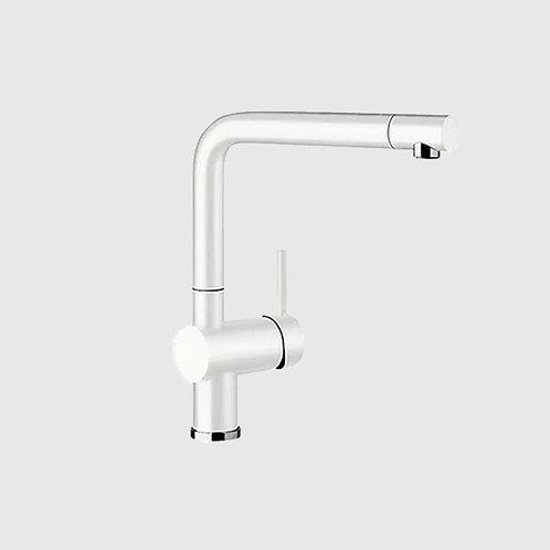 Blanco Linus S Kitchen Tap with Designer Spray - White