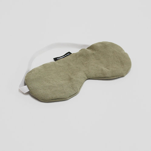 Green moss Eye mask
