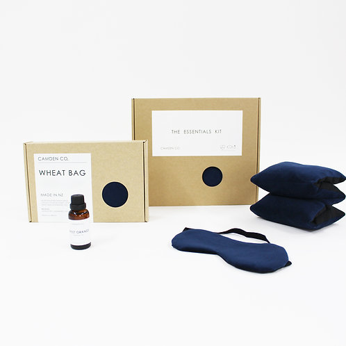 Camden Co Essentials Kit - Gift Package - Navy Velvet