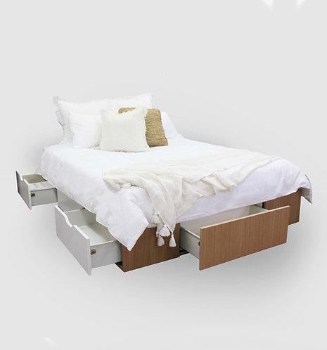 Oak Plywood Bed Box