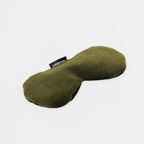 Olive Velvet Eye Pillow