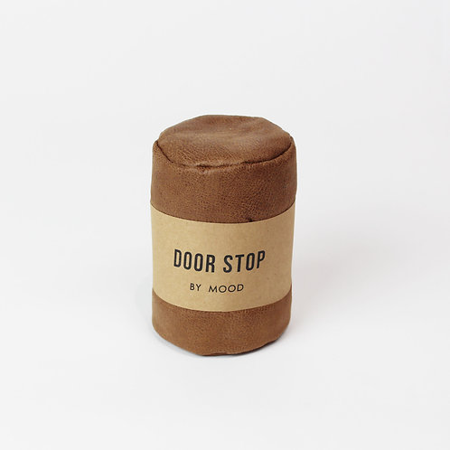 Door Stop - Leather Brown