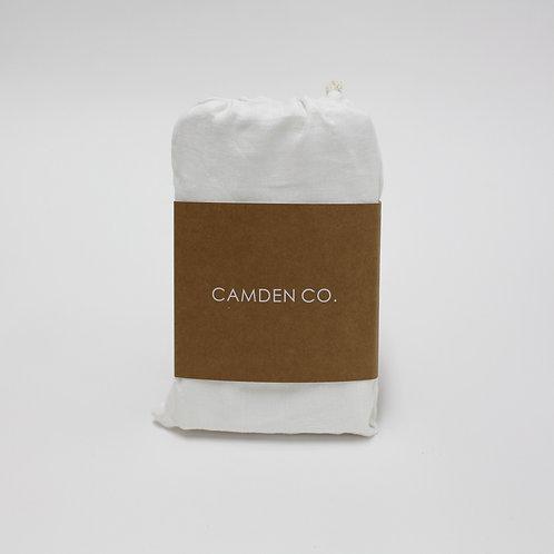 Linen Euro Pillowcase - Set of 2 - French White