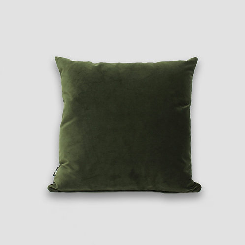 Forest 50x50 Velvet Cushion Cover and Feather Inner