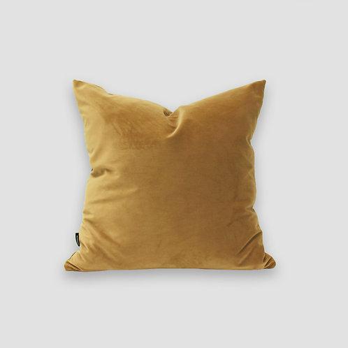 Sand 50x50 Velvet Cushion Cover and Feather Inner