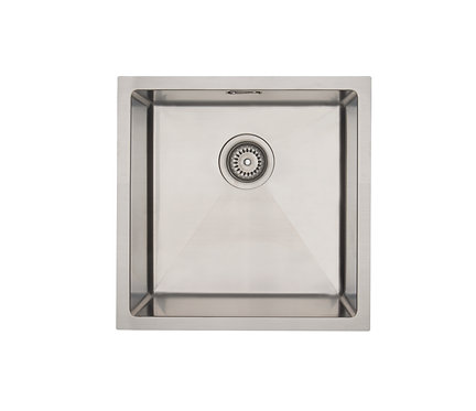 Mercer Aurora Coloured Stainless Sink - Stainless 400 x 400mm
