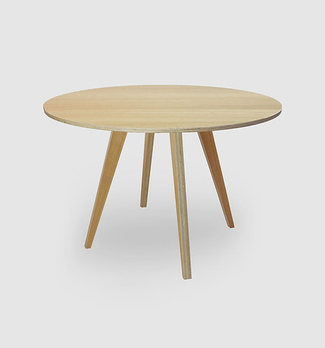 Deluxe Round Retro Dining Table