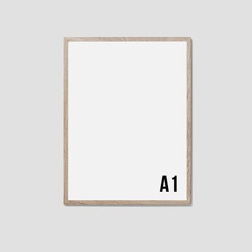 A1 Oak Frame