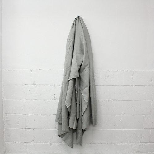 Linen Flat Sheet - Dove Grey