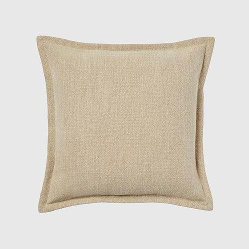 50x50 Cushion - Linen Mushroom