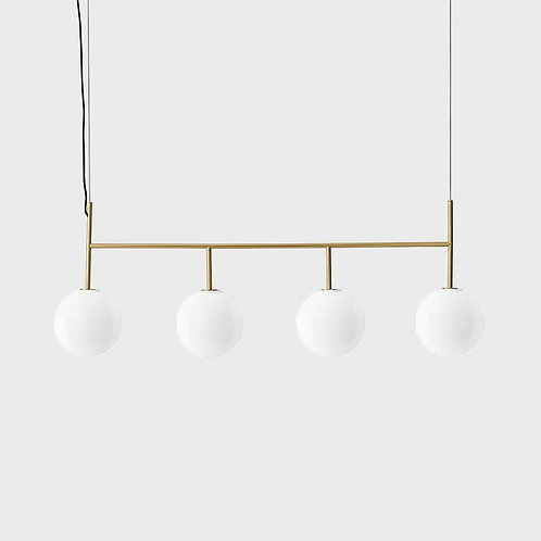 Menu Suspension Frame - TR Bulb - Brushed Brass