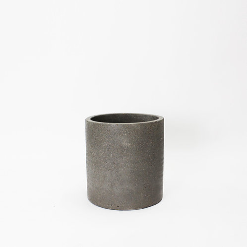 Cylinder Pots - Concrete - Medium