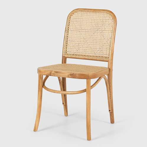 Woven Rattan Dining Chair