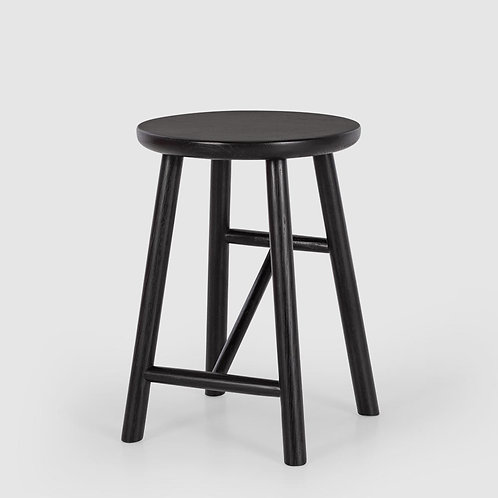 Scandi Stool Black