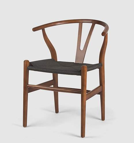 Walnut Wishbone Chair