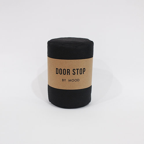 Door Stop - Leather Black