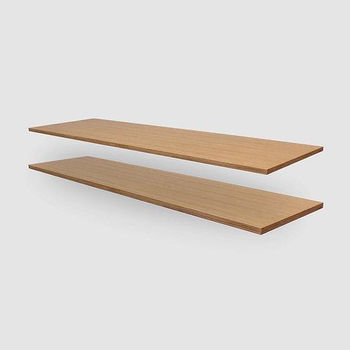 Oak Plywood Shelves - Set of 2