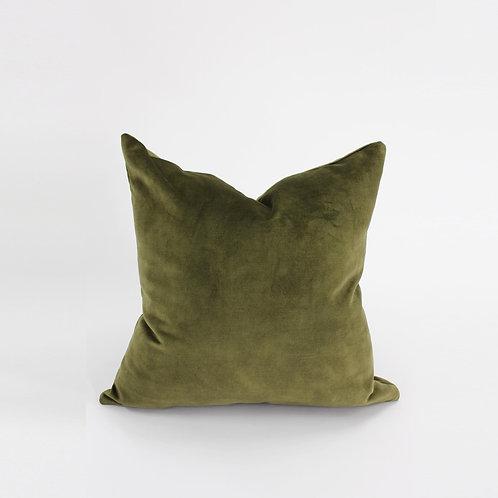 50x50 Cushion - Velvet Moss