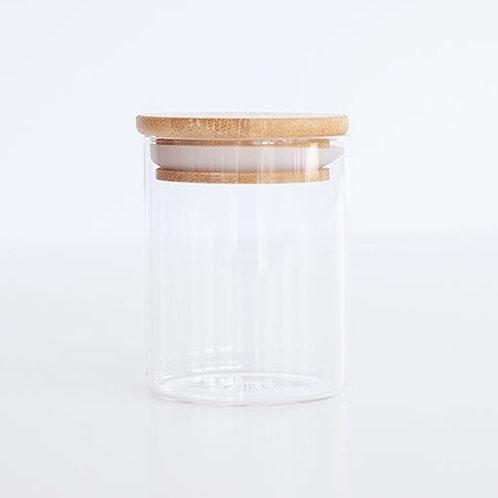 Glass & Bamboo Jar - 750ml