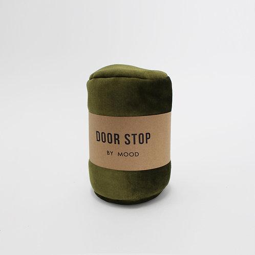 Door Stop - Velvet Olive