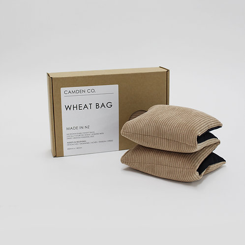 Wheat bag - Beige corduroy