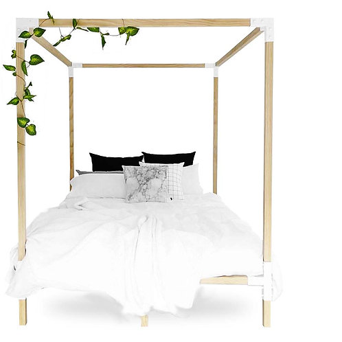 Simple Four Poster Bed