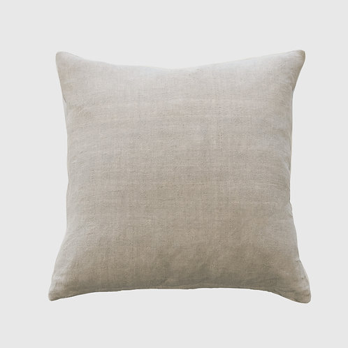 Indira Natural Cushion 55x55 with Feather  Inner
