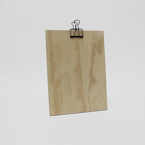 A4 Clip Board - Pine Plywood