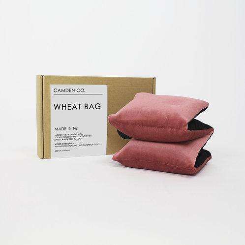 Wheat Bag - Blush Velvet