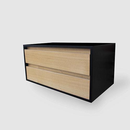 Boxed Plywood 2 Drawer Vanity
