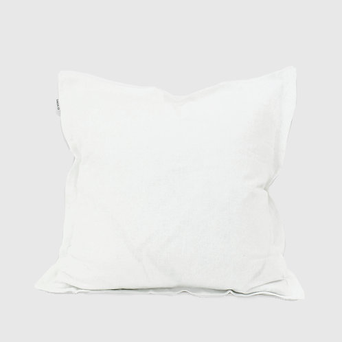White French Linen 50x50 Cushion with Feather Inner