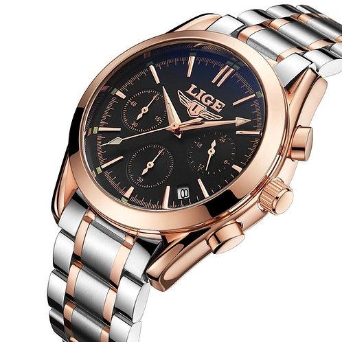 LIGE-Men-039-s-Unique-Analog-Quartz-Stainless-Steel-Watches-Busine