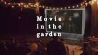 Sejong Arts Market SOSO_Movie in the garden