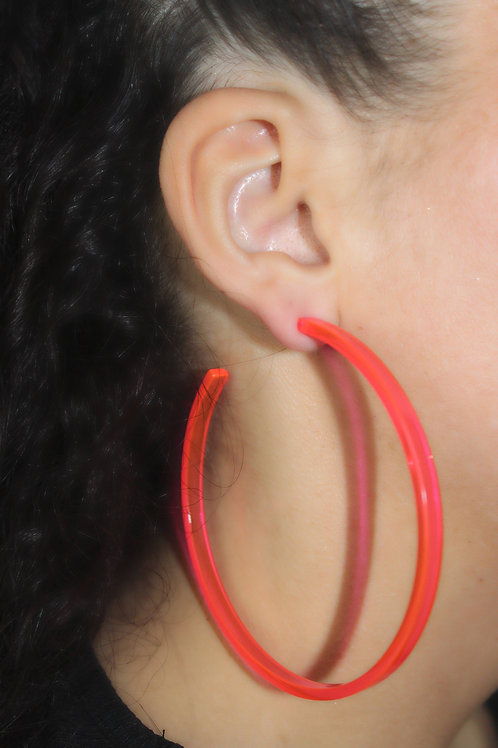 Spiced x Honey Neon Hoops