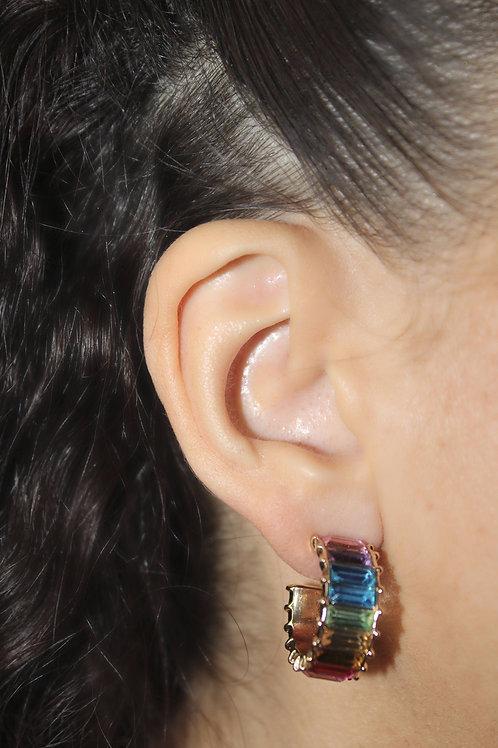 Spiced x Honey Rainbow Dripp Earings