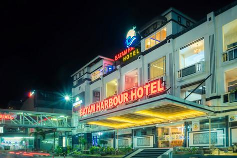 Batam Harbour Hotel Night View