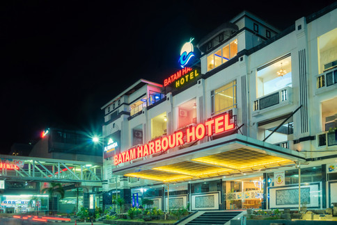 Batam Harbour Hotel Night View