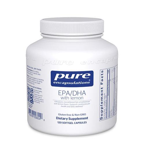 EPA/DHA with lemon 120's